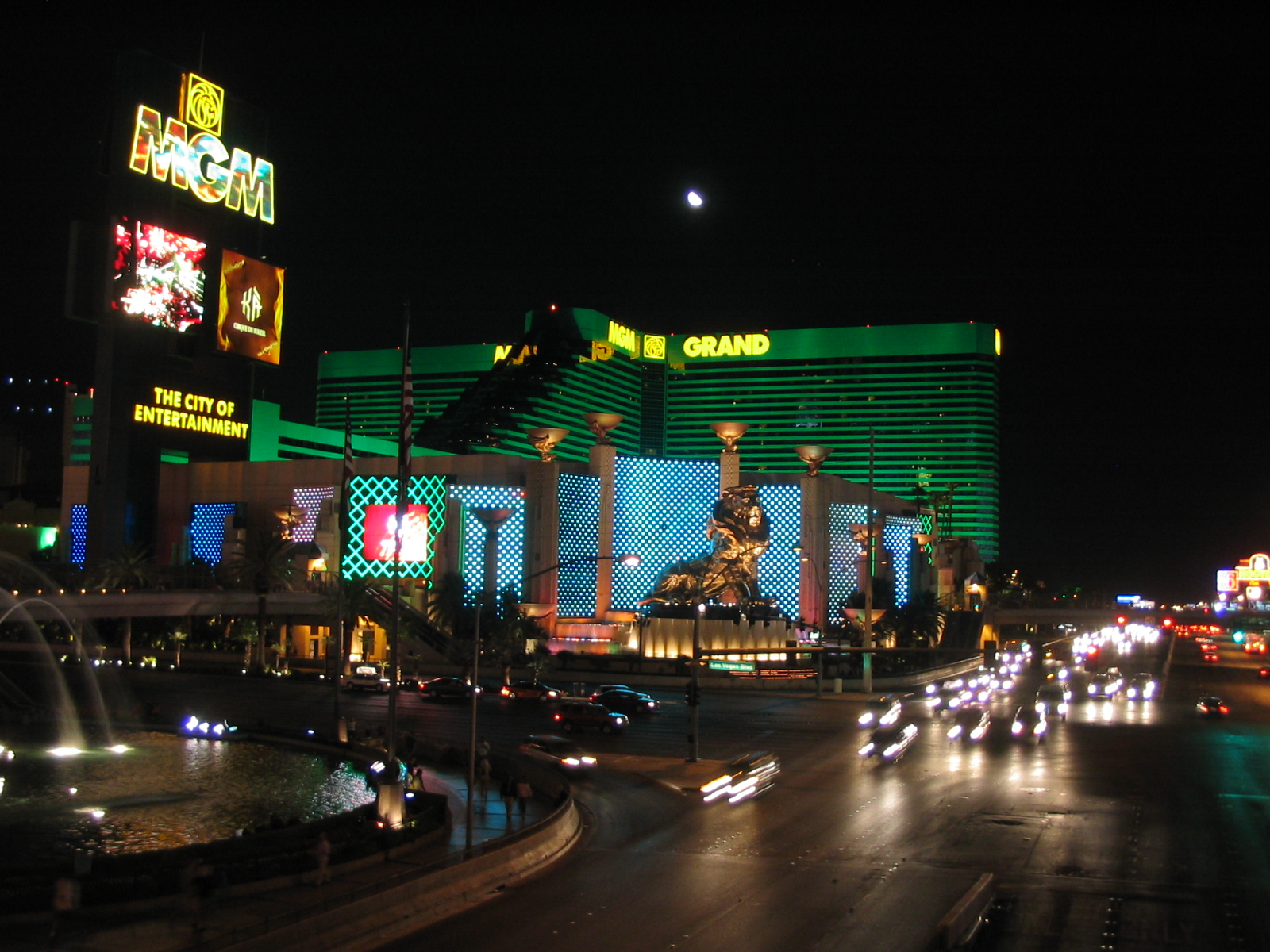 MGM The City Of Entertainment outside