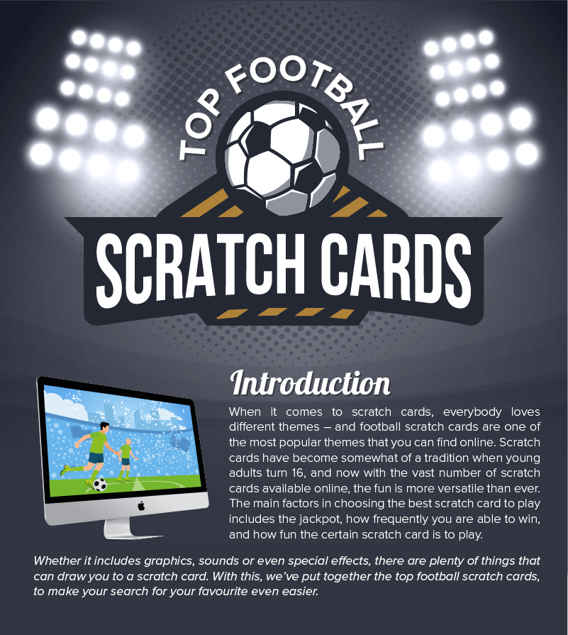 Top Football Scratch Cards title