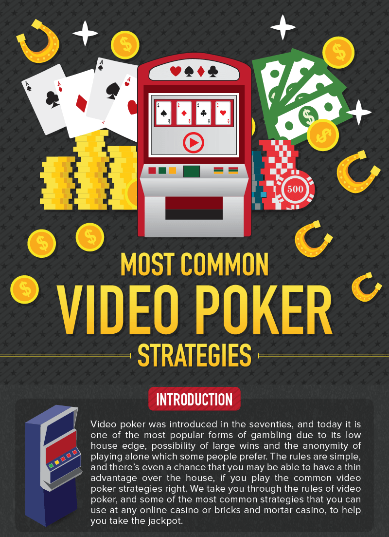 Most Common Video Poker Strategies title
