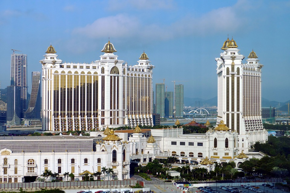 Macau casino hotel view