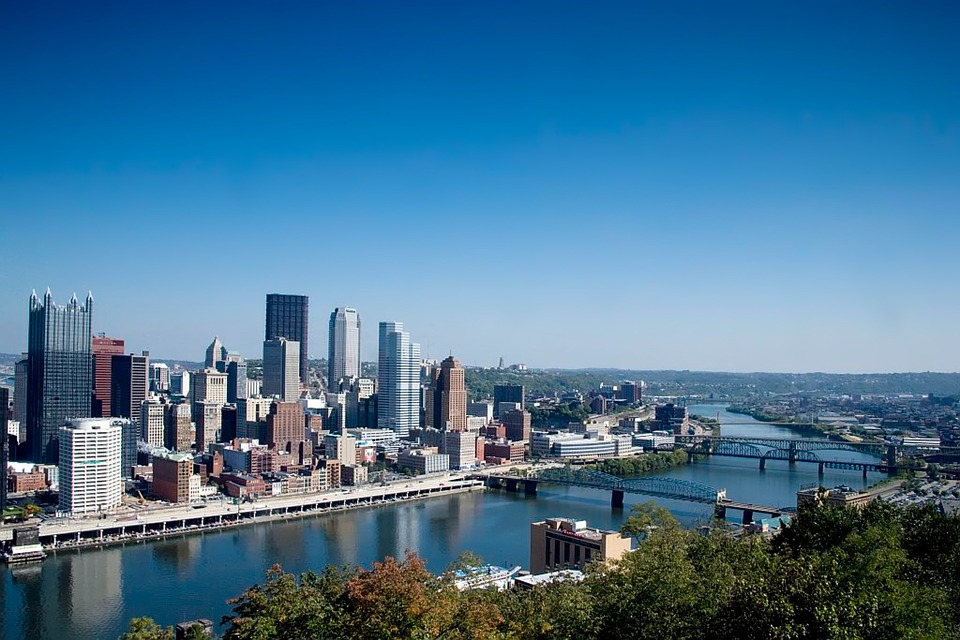 Pittsburgh cityscape view