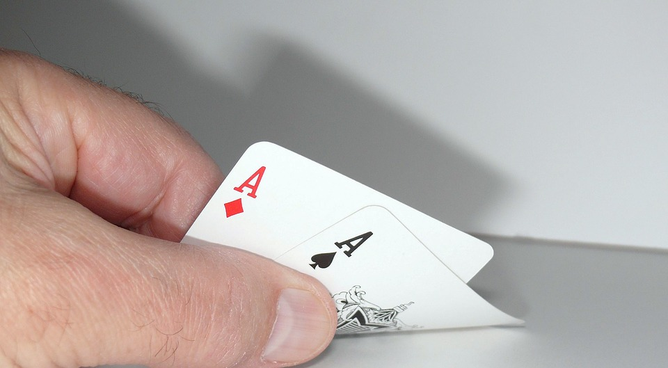 two aces cards